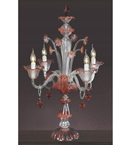 Murano Style Glass Table Lamp