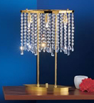 Crystal Curtain Table Lamp