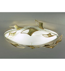Butterfly Design Flush 4 Light Chandelier with Winged Frame