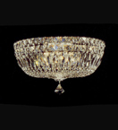 Bowl Shaped Mounted Chandelier